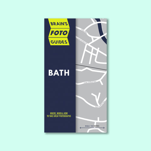 Bath Photo Map (Free Shipping - UK only)