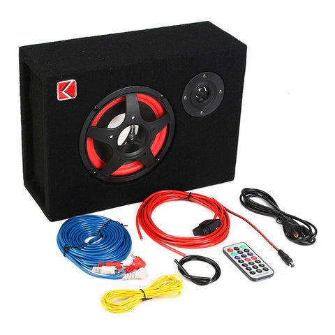 6 Inch-350W Active Car Subwoofer