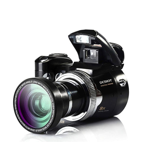 16MP Digital Photo Camera With Optical Zoom, 2.4