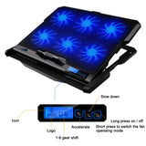 Laptop Cooler Stand With 2 USB Ports And Six cooling Fans, For 12-15.6 inch Laptops