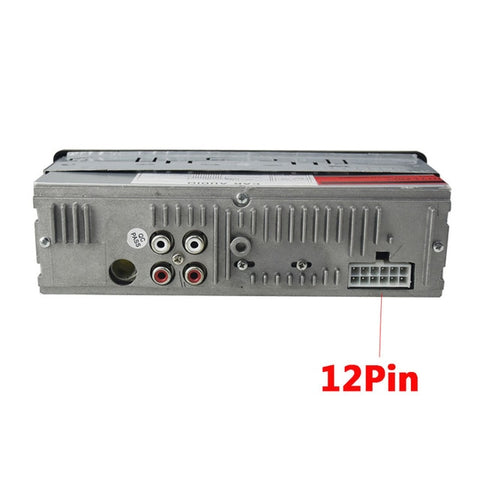 12V Car Stereo Player, AUX-IN, MP3, FM/USB + Remote Control
