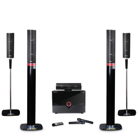 100W 5.1 Home Surround Sound System With Amplifier