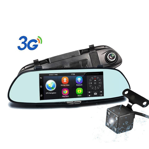 Rearview Mirror Video Recorder, Registrar, Car GPS