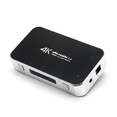 4X1 HDMI Switch With Optical Audio Output