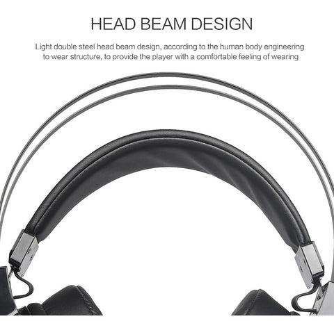 Deep Bass Gaming Headset With Microphone