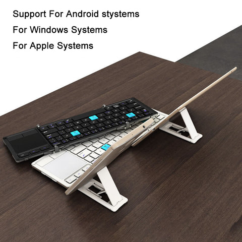 Foldable Bluetooth Keyboard With Stand