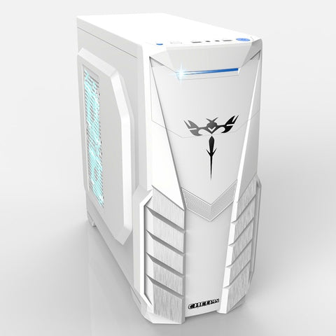 Case For Gaming PC, Micro-ATX ITX, Transparent Panel