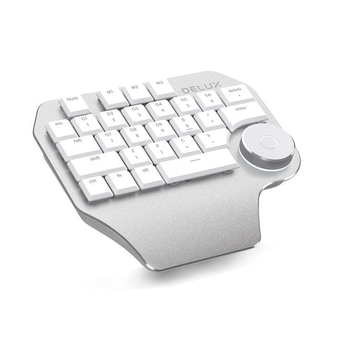 Keyboard For Digital Designers, Compatible With Wacom, Windows And Macbook