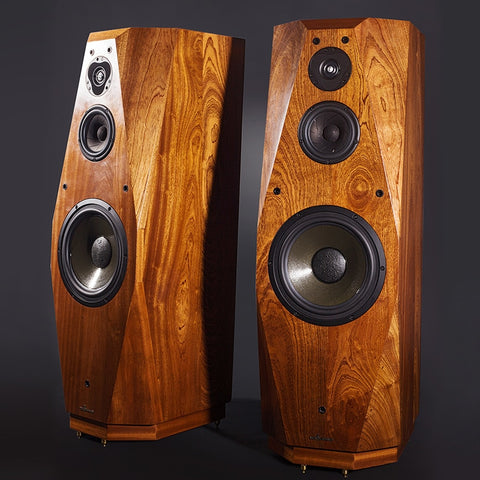 High-end, Three-way Floor standing Wooden HIFI Speakers