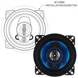 2pcs 4Inch 100W 3 Way Auto Car Stereo Speakers. *Full Range Frequency