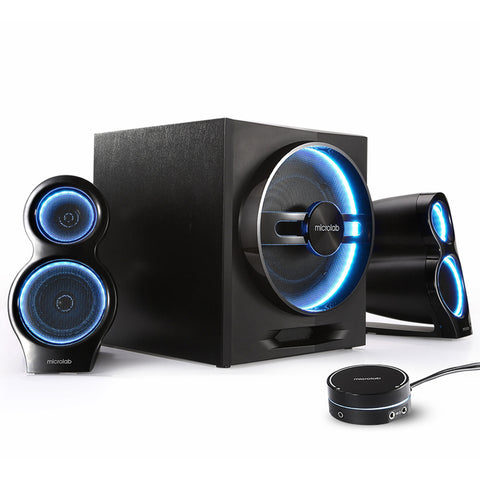 Microlab HIFI Wireless Speakers.