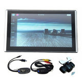 "7"" GPS Navigation Touch Screen + Free Maps, Optional Bluetooth AV-IN & Rearview camera"