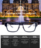 Smart Glasses With Camera - 1080p HD Digital Video Recording App