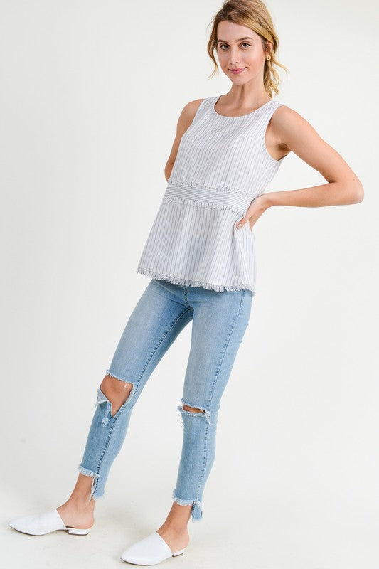 Frayed Edge Top