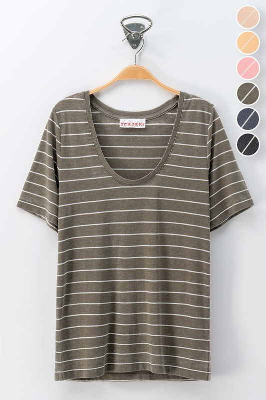Simple Stripe Tee
