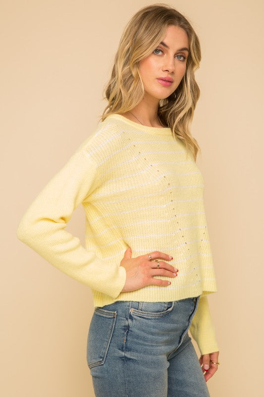 Lemon Drop Sweater