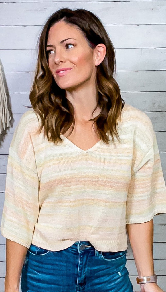Leah Sweater Crop