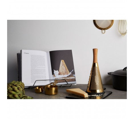 Modern Retro Gold Finish Grater