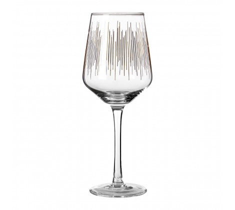Deco Wine Glasses