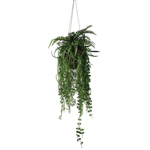 Mixed Fern Tropical Hanging Ball