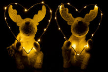 Deer With LED Heart