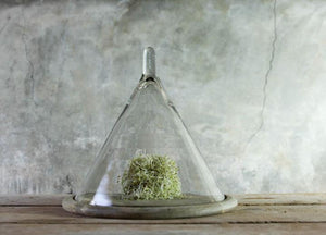 Recycled Glass Conical Dome