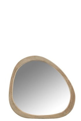 MIRROR IRREGULAR MAN WD SMALL (63x56x2,5cm)