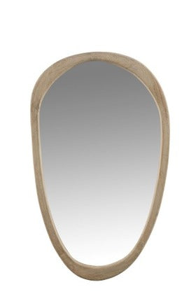 MIRROR IRREGULAR MAN WD LARGE (83x51x2,5cm)