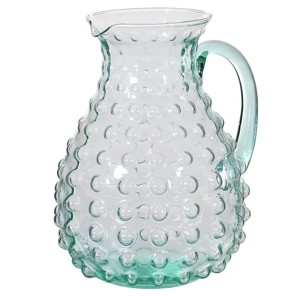 Green Bobble Pitcher