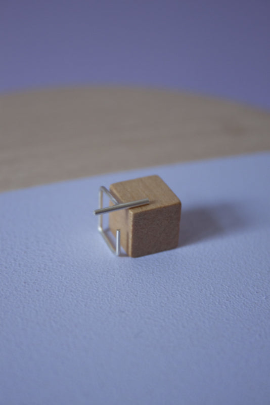 Moesk Cube Small Single Earring