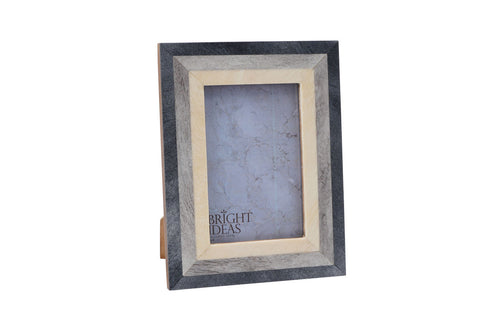 Cream and Grey Photo Frame