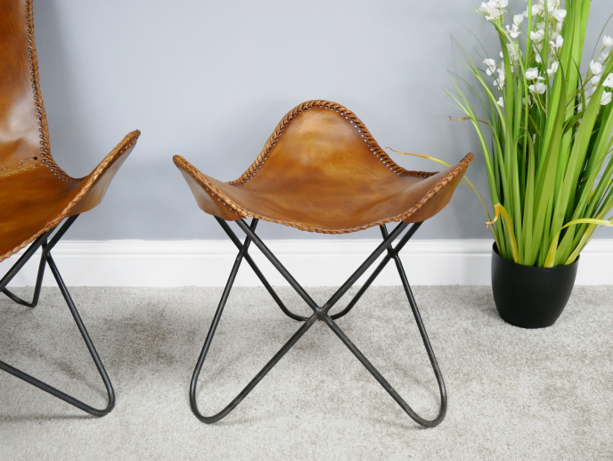Butterfly stool/foot rest