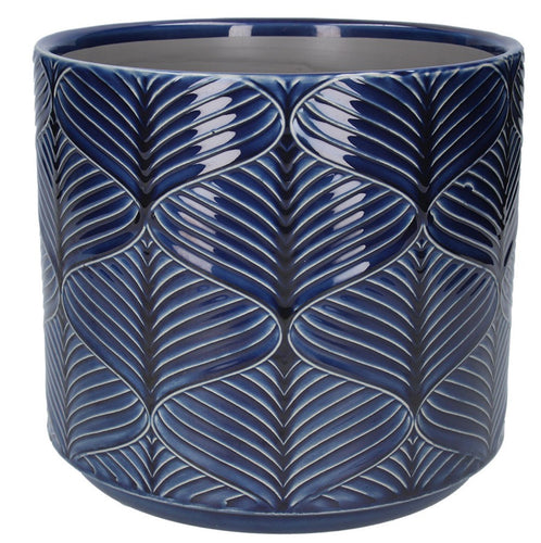 Berry Wavy Ceramic Plant Pot