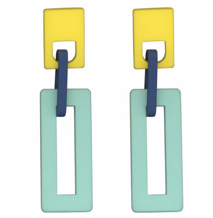 Sonia Rectangular Earrings