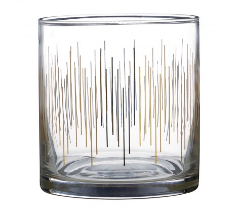 Deco Glass Tumbler