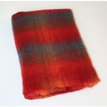 Brushed Mohair70/Wool30 Throw