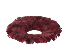Wreath Deco Feathers Juju hat