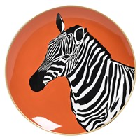 Zebras Decorative Plate