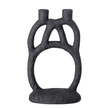 Candle Holder, Black