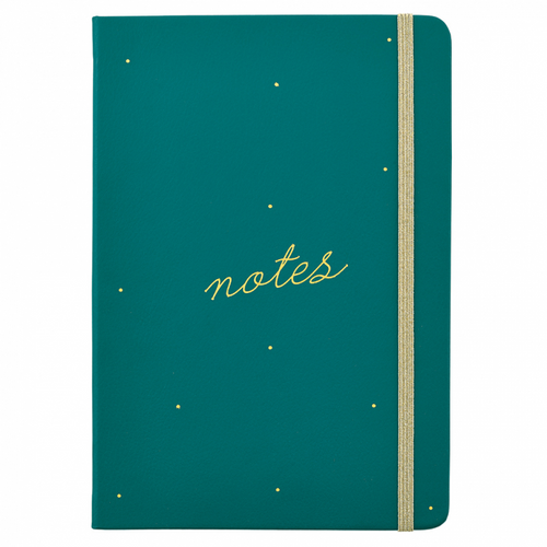 Busy Life Notebook - A5 Green