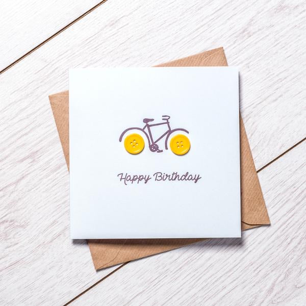 LPM Birthday Card - Bike