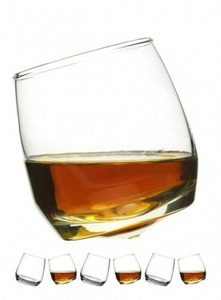 Club whiskey glasses Rounded base 6 Pack