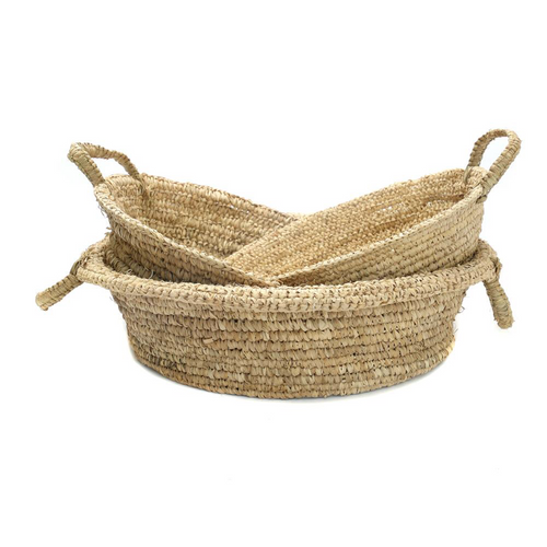 The Raffia Basket Tray