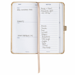 Slim Diary 2021 Rose Gold