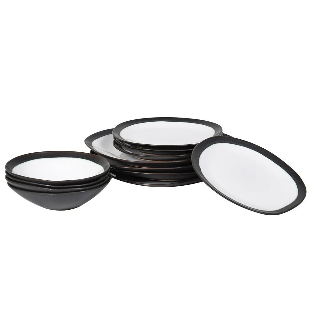 S/12 Mis-shape Dinner Set