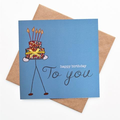 LPM Birthday Card - To You