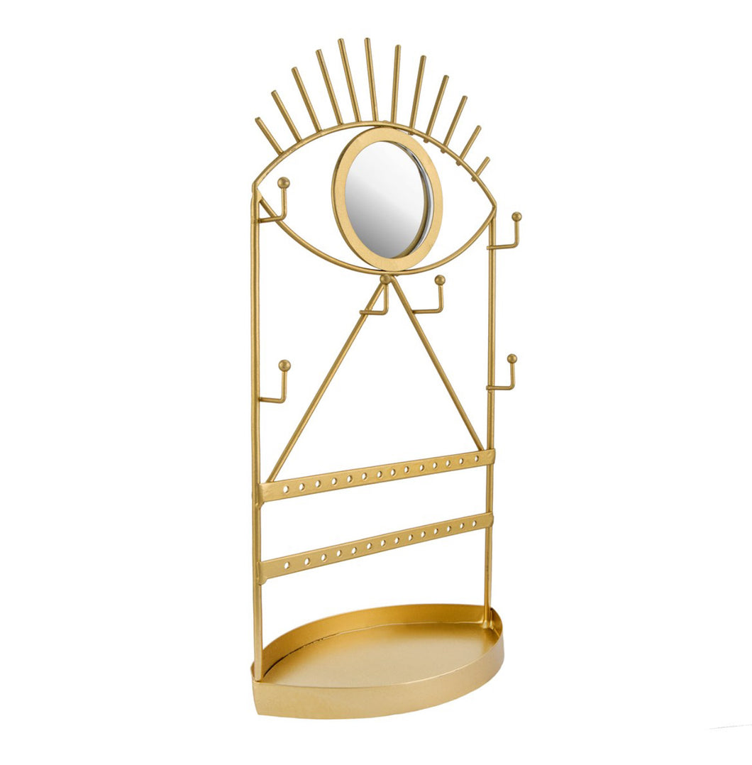 Gold Eye Jewellery Holder