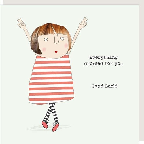Rosie Card - Good Luck