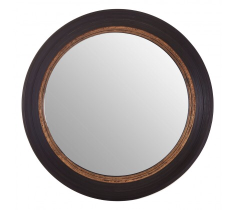 Black/Gold Convex Mirror