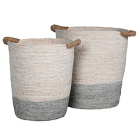 2  Tone Natural Baskets